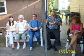 Amy, Jean, Paula, Ray and Ann
