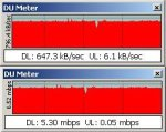 this is 3mbit dsl YEAH hehe