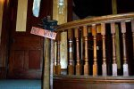 The Lovely original Woodwork.