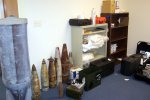Russian BLU, 3 155mm projectiles, 2 185mm's, another 155mm.